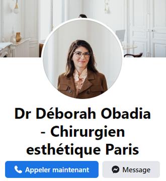 Page Facebook - Dr Obadia